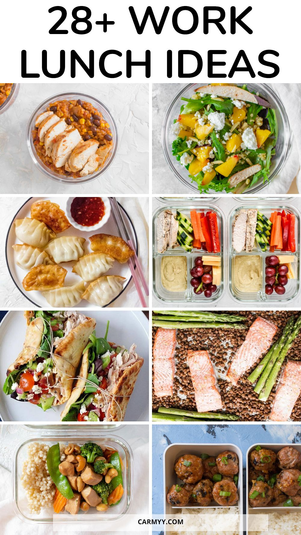 Healthy Make Ahead Work Lunch Ideas Healthy Lunch Meal Prep Lunch Meal Prep Healthy Lunches For Work