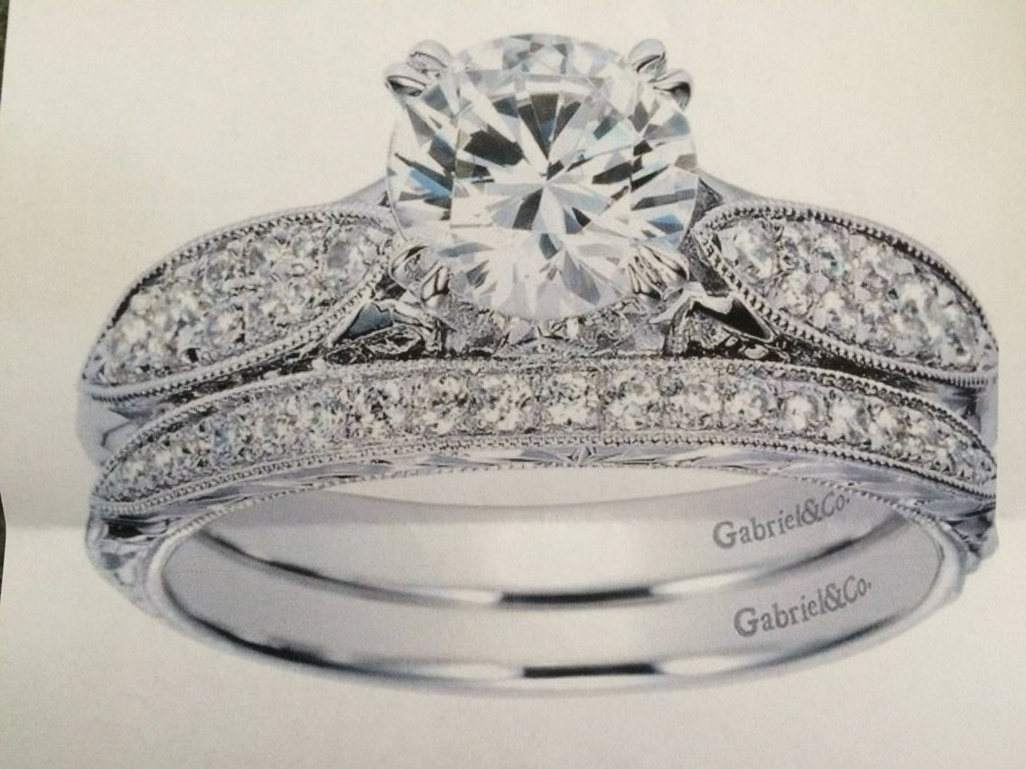 Gabriel and Co | Crown jewelry, Engagement rings, Silver ...