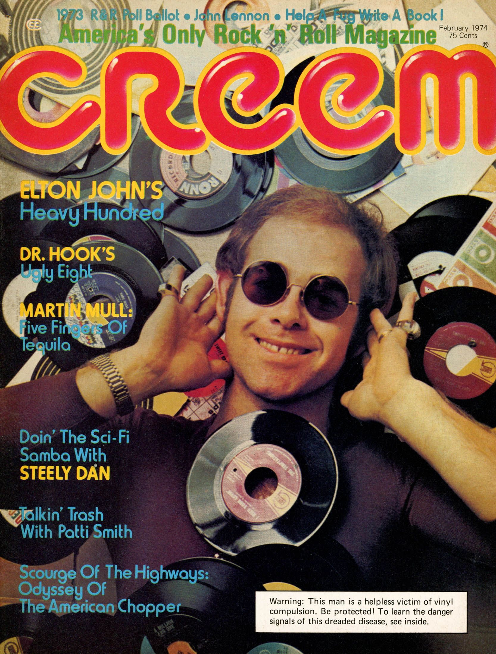 Image result for creem magazine 1974
