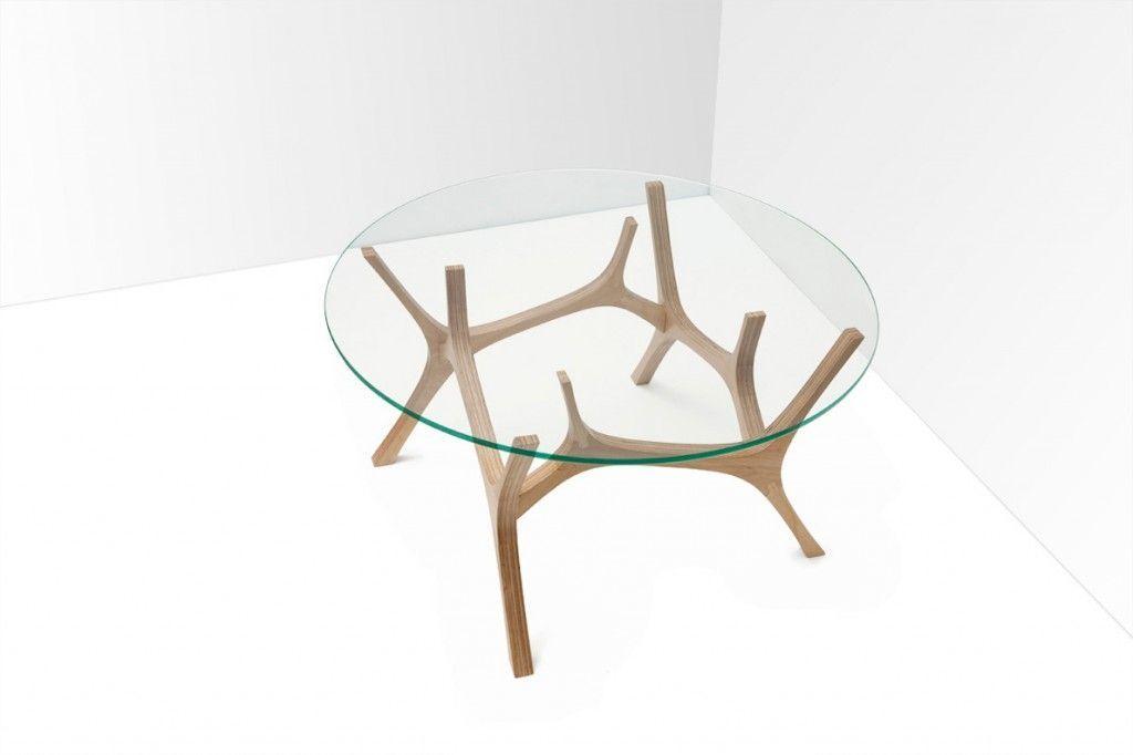 impressionnant table basse ronde en verre design - Pied Pour Table Basse En Verre