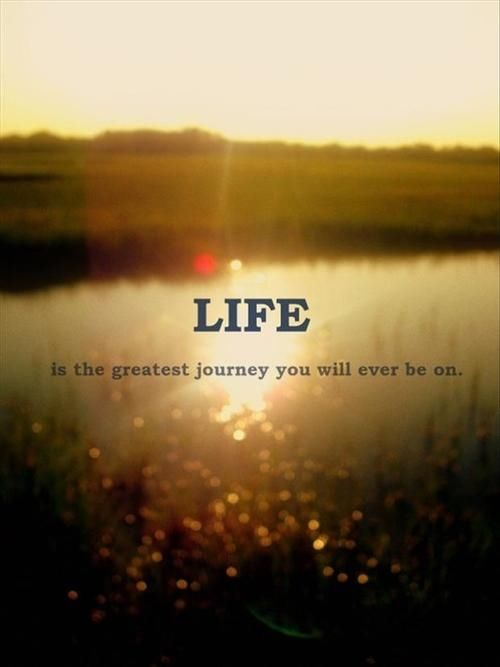 Life Is The Greatest Journey Life Quotes Quotes Quote Life Life