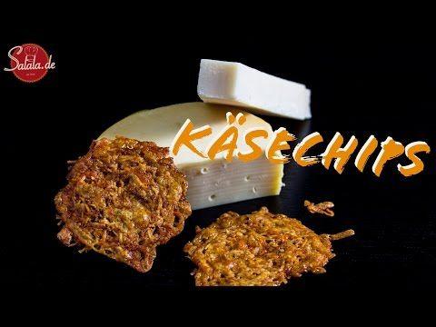 Käsechips / Käsecracker - Low Carb glutenfrei - salala.de - Low Carb mit Vroni & Nico