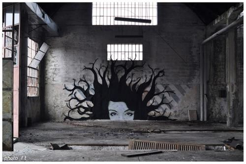 Global Street Art • Check out our latest interview on the abandoned...