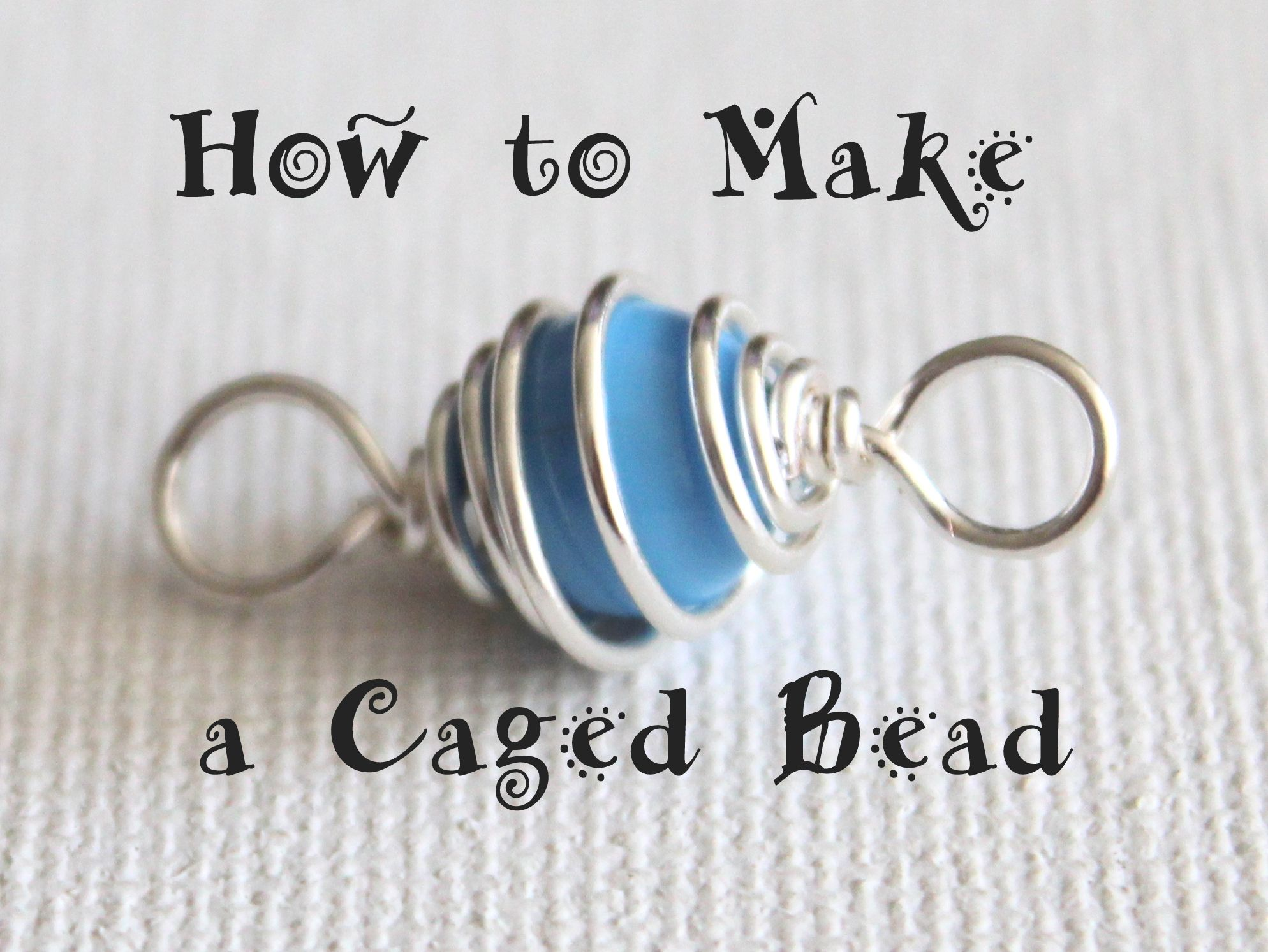 Photo of How to Make a Caged Bead…You can use caged beads to add an extra special eleme…