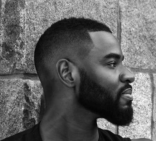 Coupe de cheveux tendance homme black
