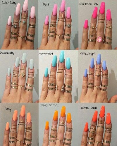 Pinterest Mhouk240 With Images Summer Acrylic Nails Cute