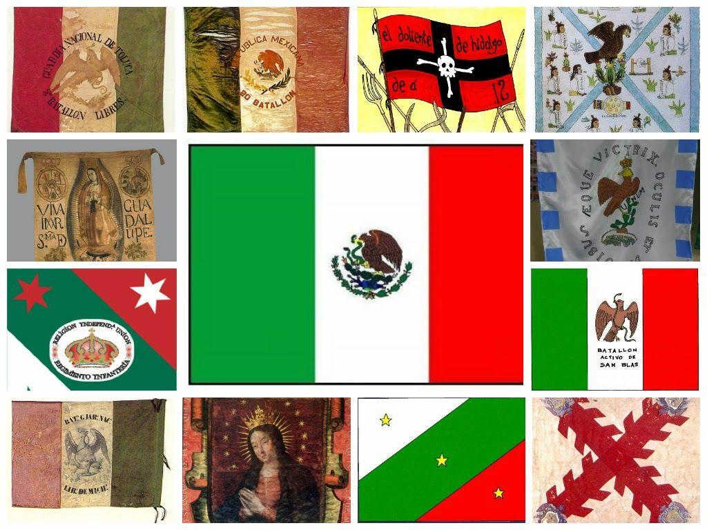 Alexduv3 Evolución De La Bandera De México Meksyk 6 Flagi