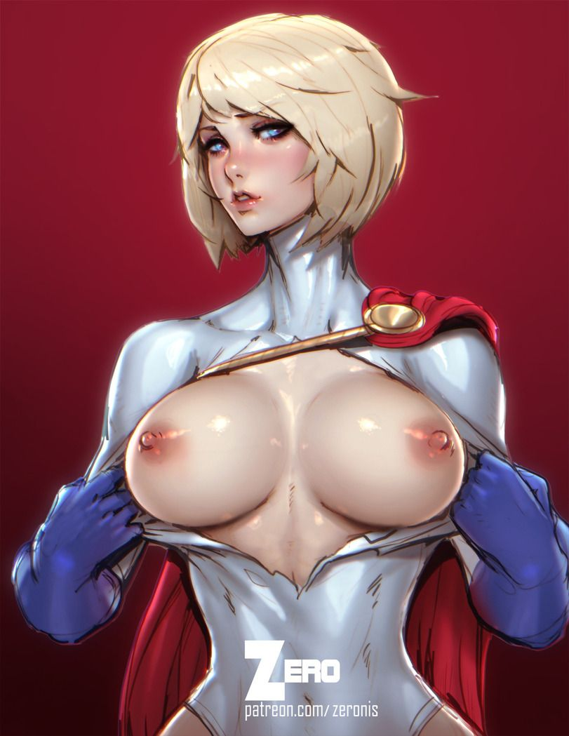 Power girl nue — 12