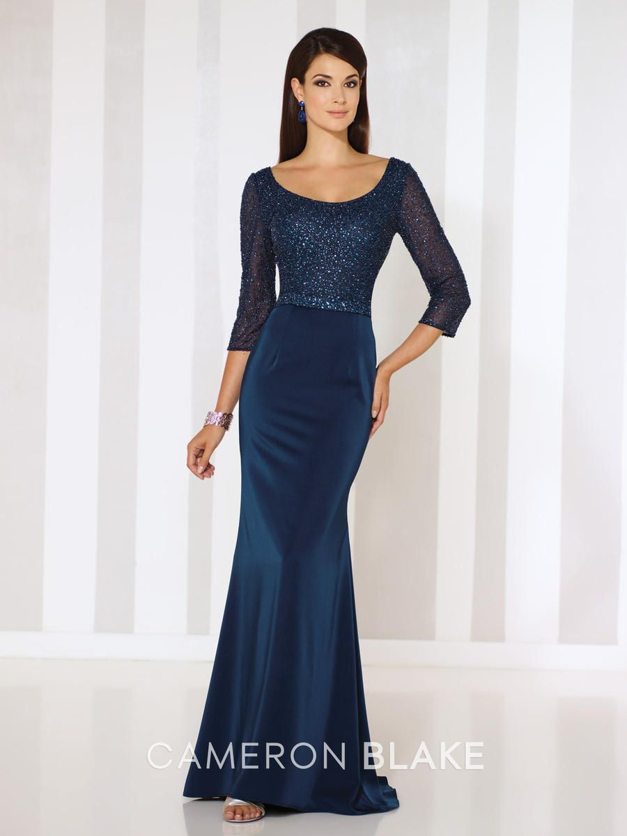 Mother of the Bride and Groom Dresses and Gowns Cameron Blake 116660 ...