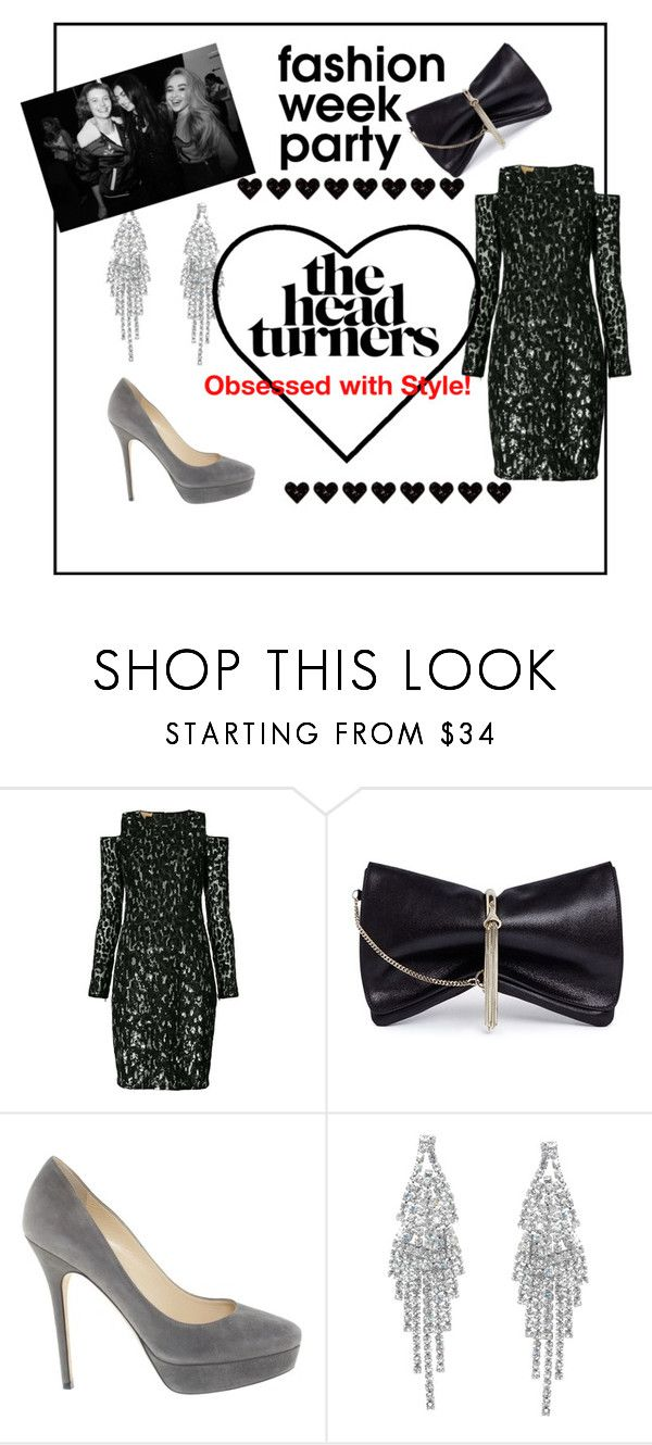 """""""The Head turners"""" by sallytcrosswell on Polyvore featuring Michael Kors, Jimmy Choo, Humble Chic and afterparties"""