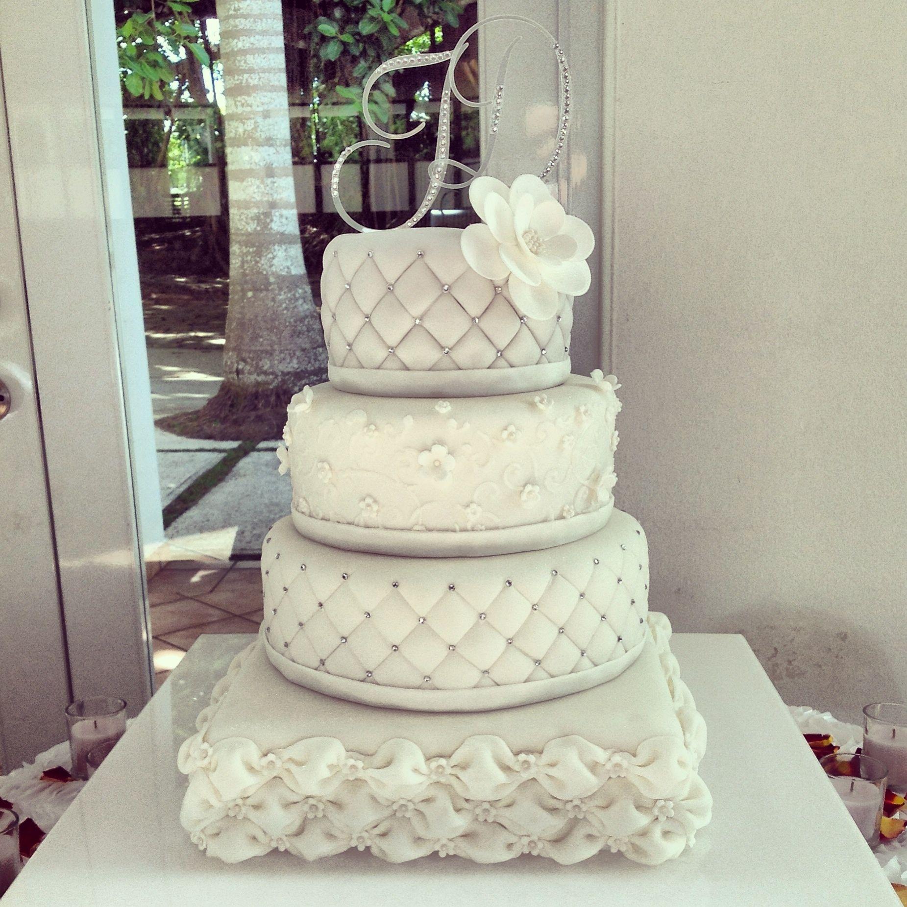 Wedding Cake: Admirable Vintage Wedding Cakes Ideas — Salondegas.com