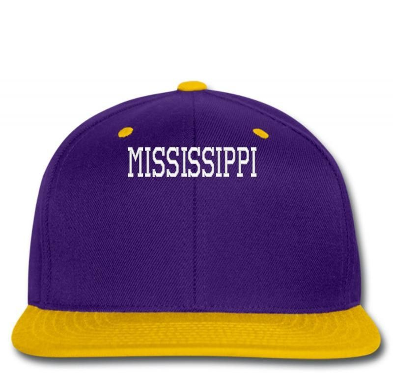 MISSISIPPI EMBROIDERY Snapback
