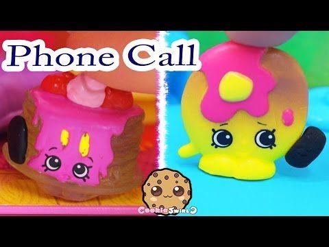 Shopkins Season 4 Play Video - Phone Call - Toy Series Part 5 Cookieswirlc - YouTube