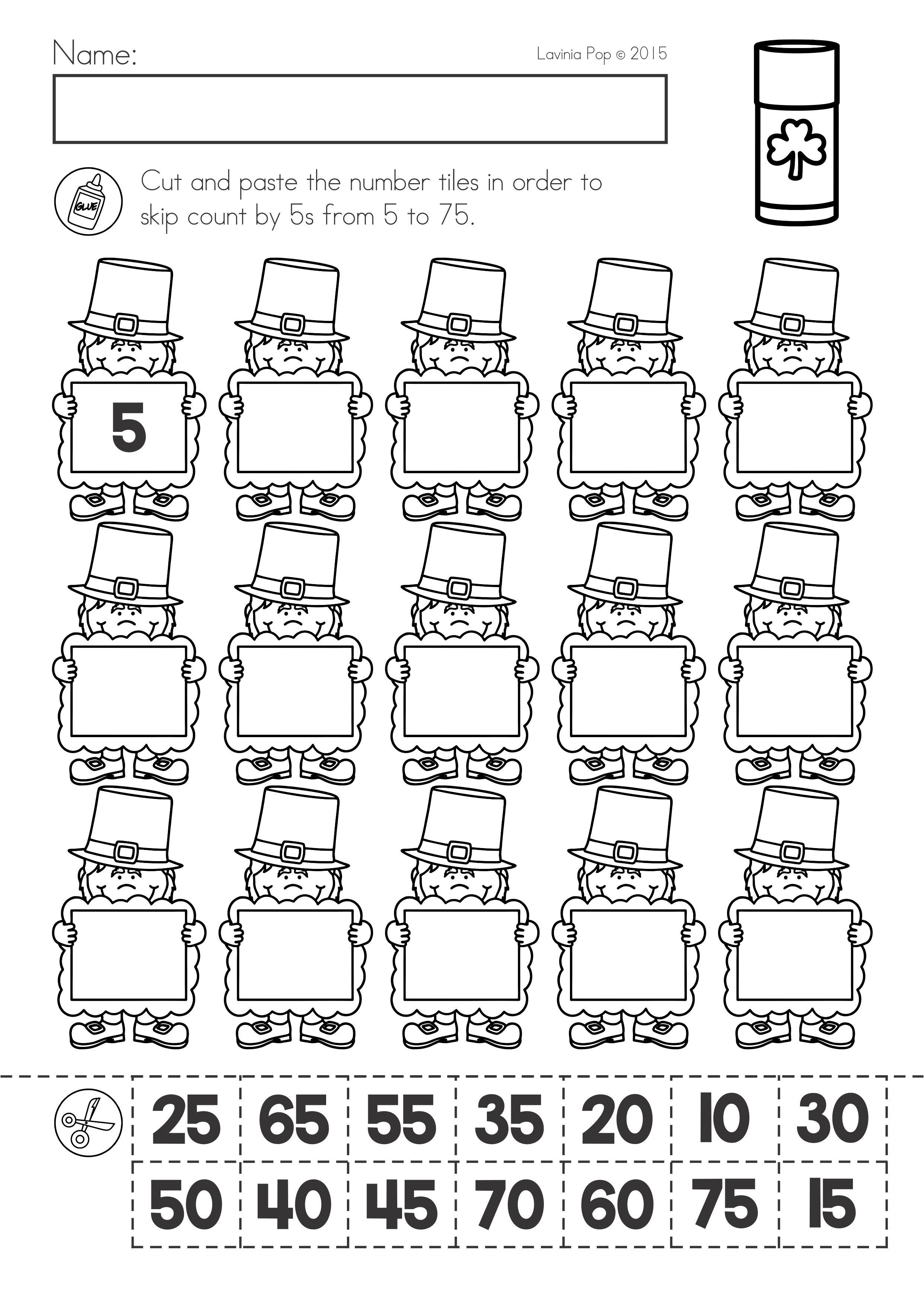 St Patrick S Day Math Literacy Worksheets Activities No Prep Literacy Worksheets Math Literacy Literacy [ 3508 x 2482 Pixel ]