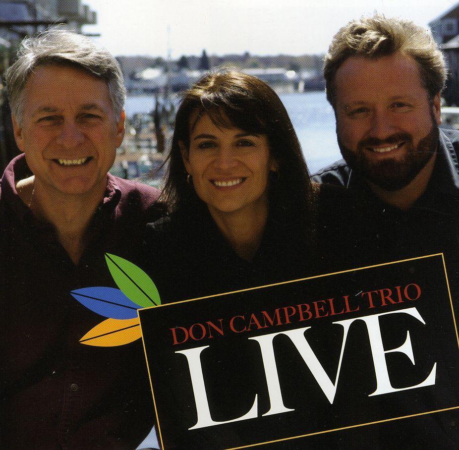 Don Trio Campbell - Don Campbell Trio-Live, Black