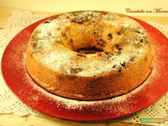 Ciambella con Marmellata  #ricette #food #recipes
