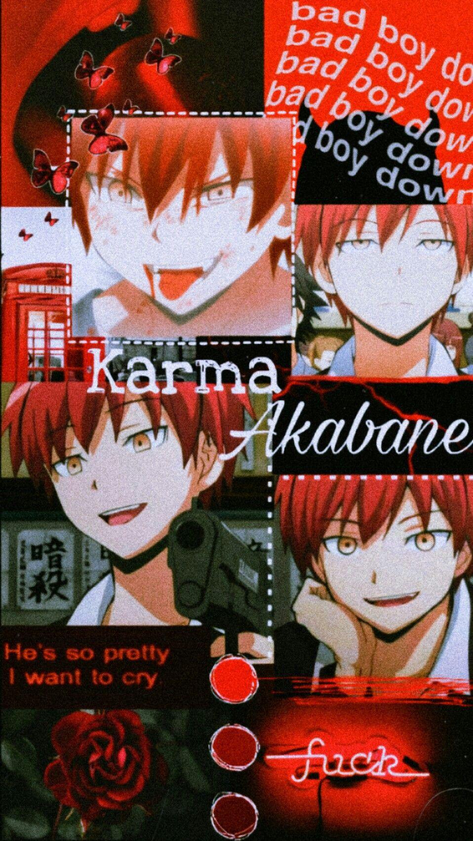 Karma Akabane Wallpaper Anime Classroom Anime Wallpaper Anime Wallpaper Iphone