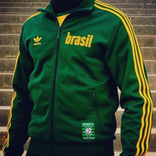The Adidas Originals Brasil 1970 WorldCup Track Top by