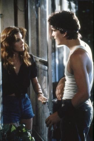 'RUMBLE FISH, 1983 directed by FRANCIS FORD COPPOLA Diane Lane and Matt Dillon (photo)' Photo - | Art.com