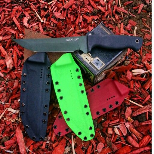 Swamp Rat Taliwhaker W/ Kydex Sheaths By J&G Designs