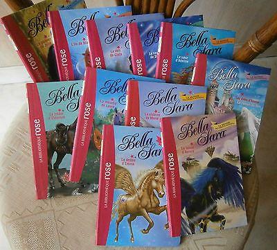 Bella Sara Bibliotheque Rose Lot De 11 Livres Eur 24 90