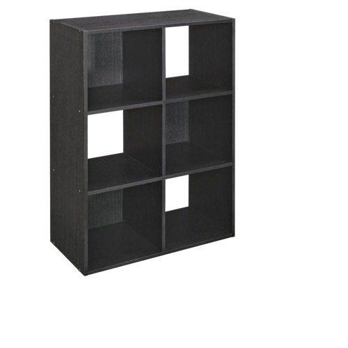 Marvelous Amazon.com   ClosetMaid Cubeicals 6 Cube Organizer   Black Ash Storage  Closet Systems