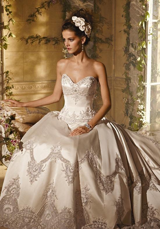 AMALIA CARRARA BY EVE OF MILADY 276 Wedding Dress - The Knot ...