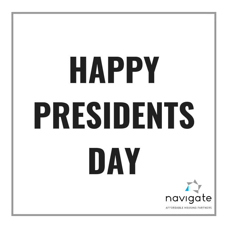 Happy Presidentsday Some Are Off Today But Many Of You Are Still Working Hard In Affordablehousing We See Yo Happy Presidents Day Work Hard Presidents Day
