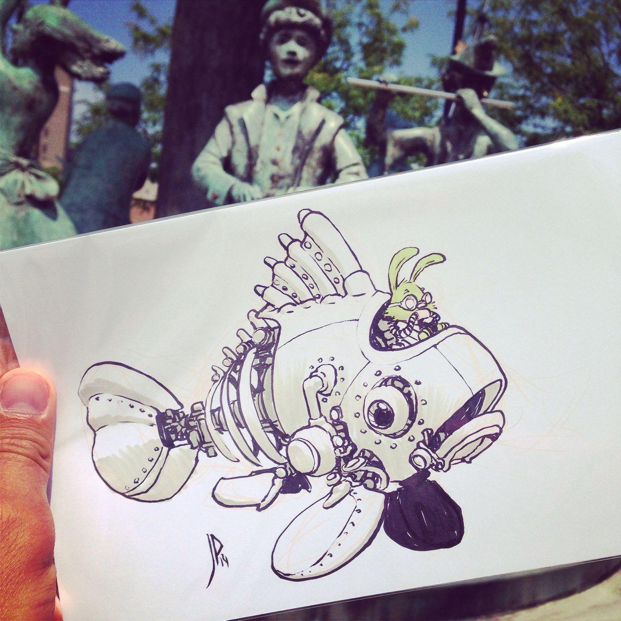 Artdrop 14 By Jake Parker Character Design Steampunk
