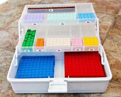 Math Blocks Organization Math U See Multisensory Math Math Blocks
