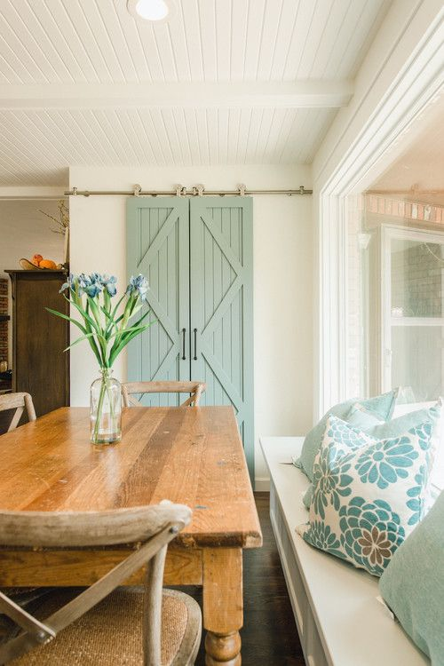 bright and beachy dining room designs beach pinterest cottage rooms cottages also rh