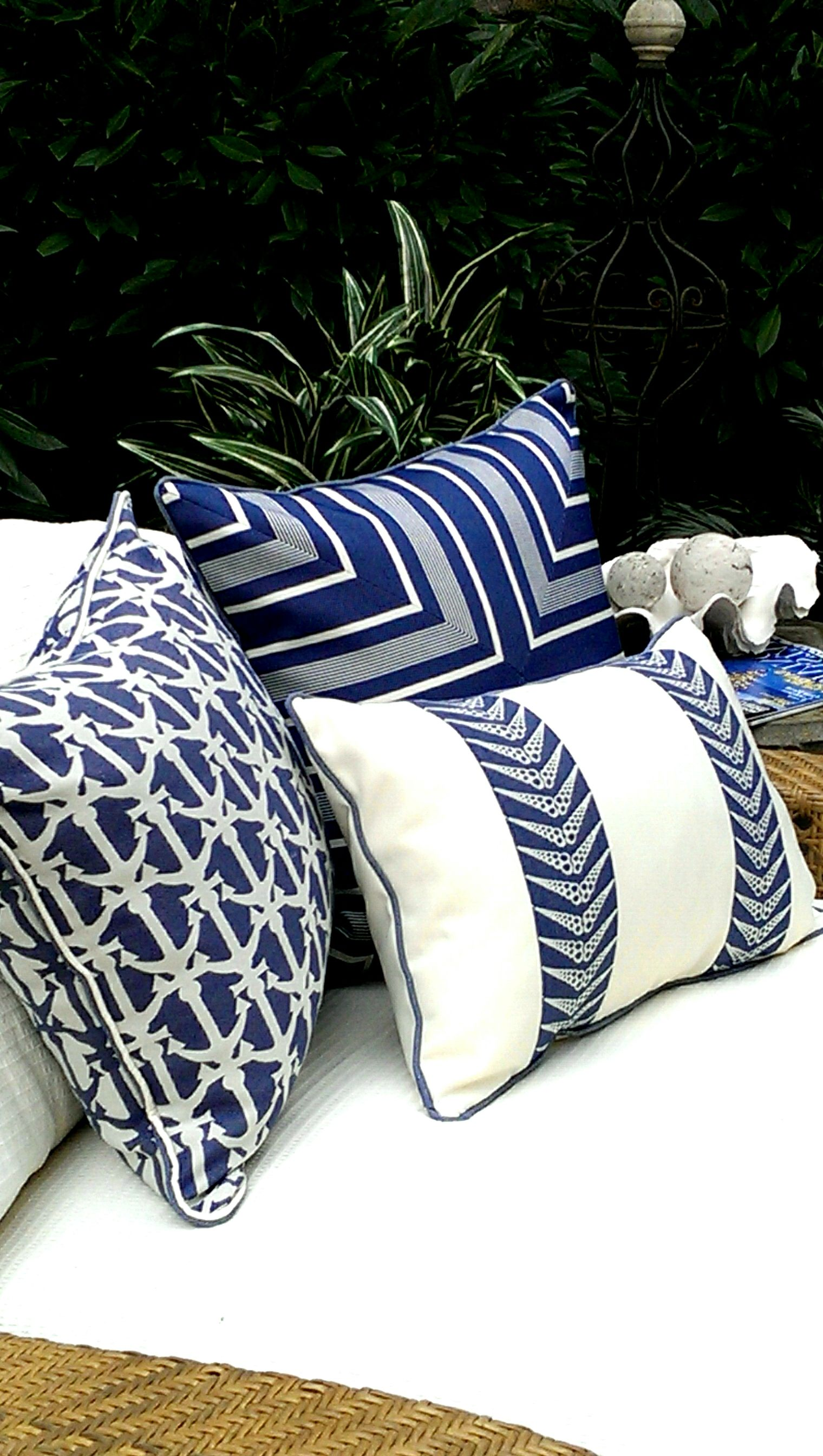 wicker outdoor pillow cabana with and pillows space blue teak seating cushions white style coastal pin throw