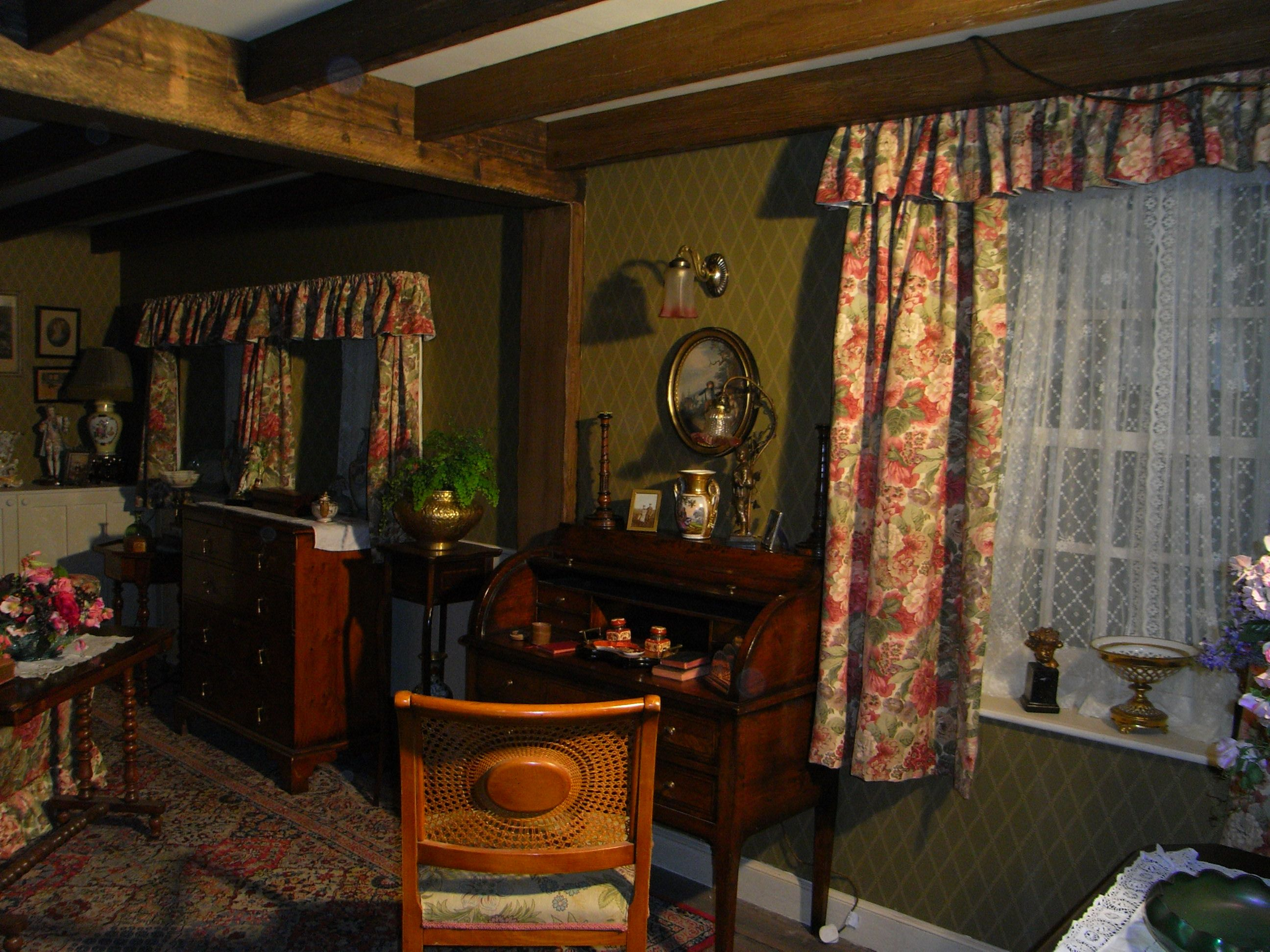 A shot of the original set from the Miss Marple ITV series. This set first appeared in Marple in 2004, starring Geraldine McEwan.
