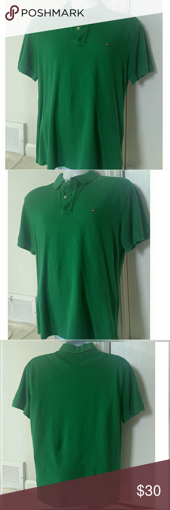 Men Polo Tommy Hilfer Polo Shirt Brands Green Polo Shirts And