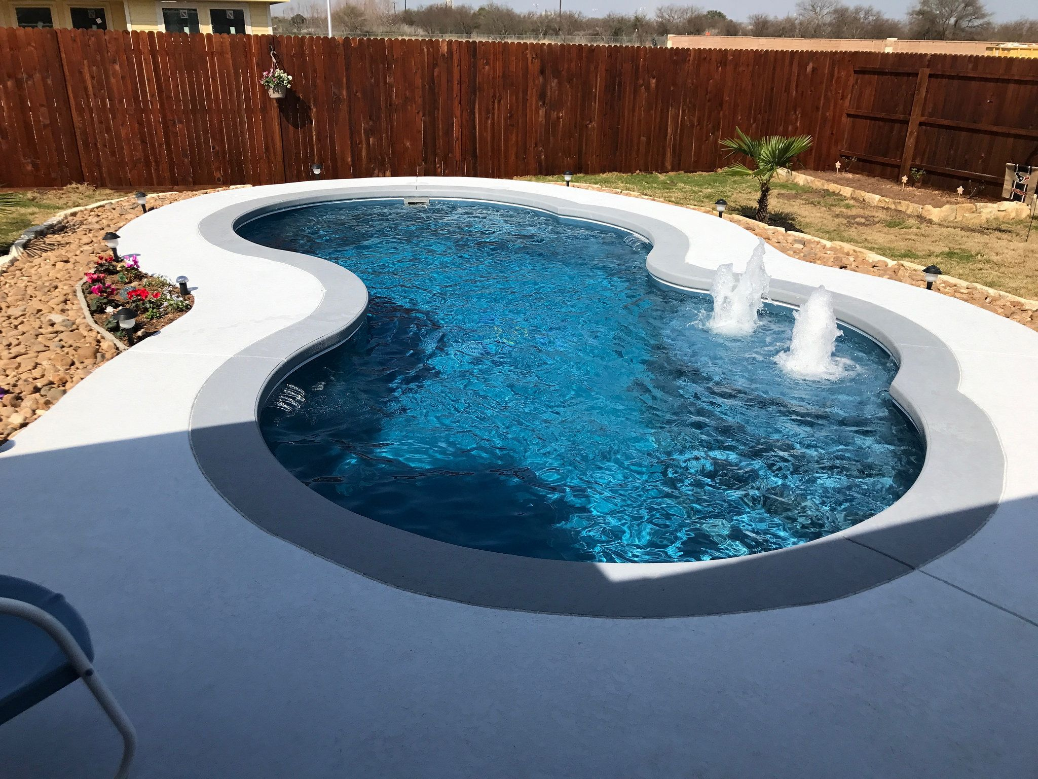 Picasso Pools Backyard Inground Small Pools Backyard Small Backyard Pools