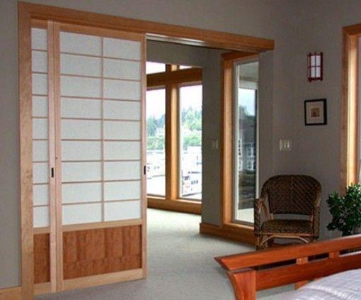 Puerta corrediza paneles japoneses pinterest puertas - Correderas para puertas corredizas ...