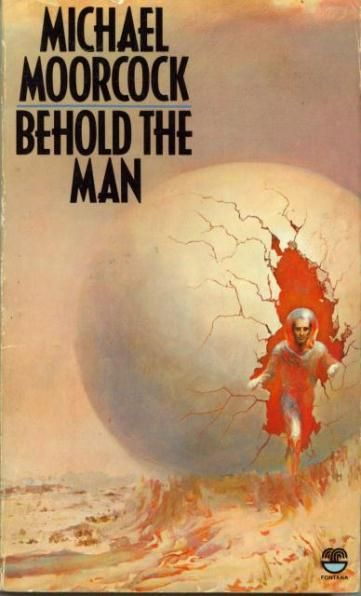 Uncredited cover for the 1980 edition of Behold the Man (1969), Michael Moorcock