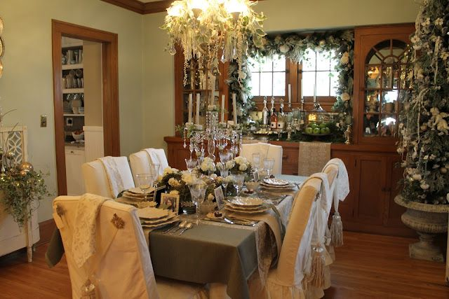 Christmas dinner party Party Ideas Pinterest Holidays, Holiday