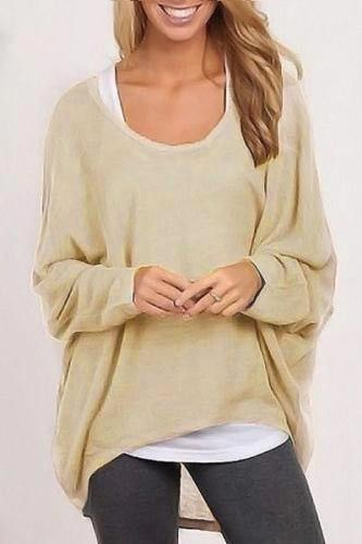 Cupshe After Party Colorful Oversized Top  58b2bc3b1082