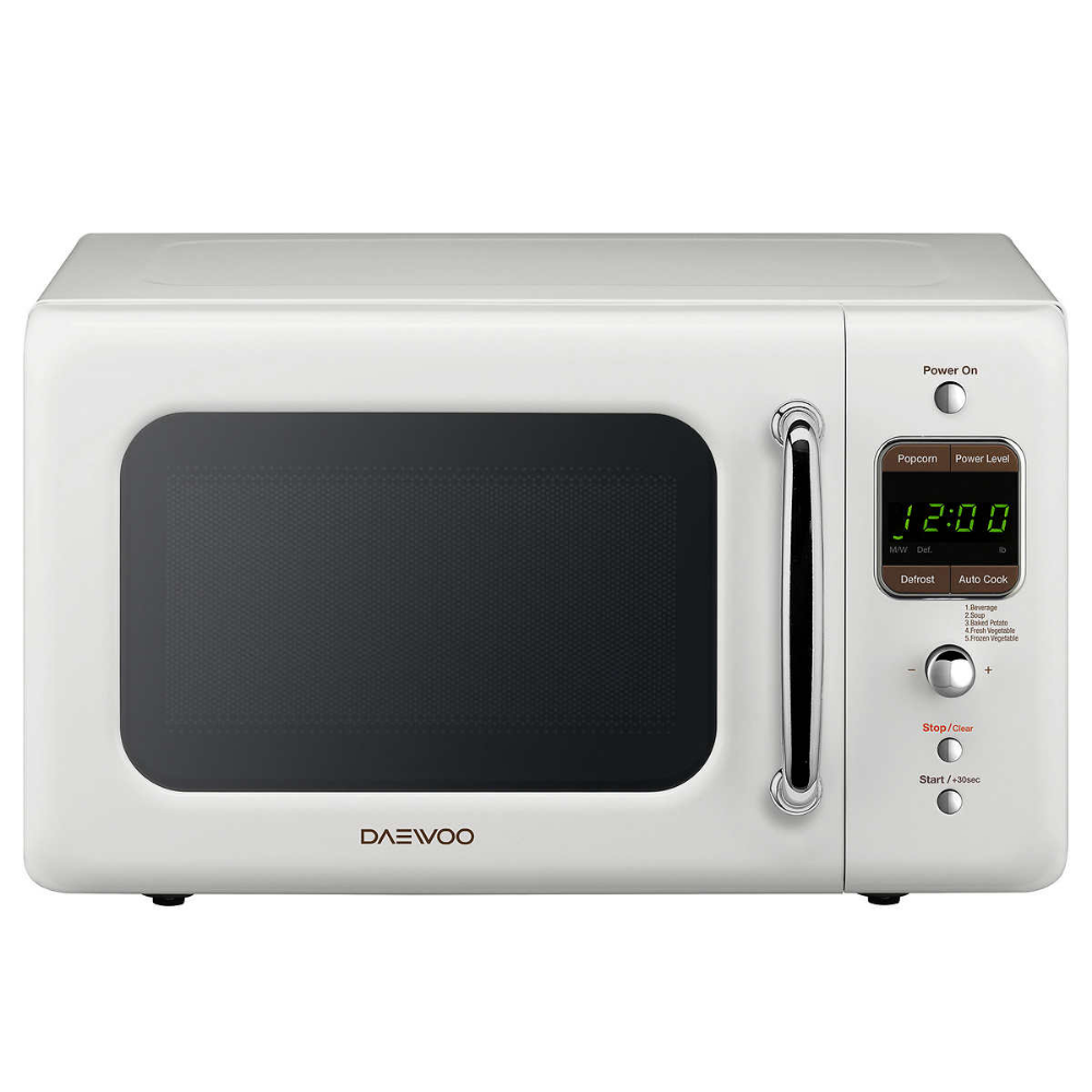 Daewoo Retro 0 7 Cuft 700w Microwave Kor 7lre Love This Buy