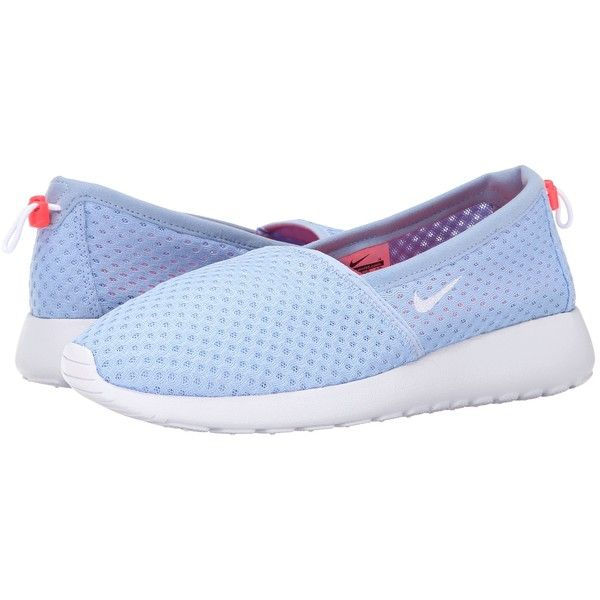 sports shoes befe8 d937f Nike Roshe One Slip Women s Shoes ( 40) ❤ liked on Polyvore featuring shoes,  blue, nike footwear, slip-on shoes, embroidered shoes, blue slip on shoes  and ...