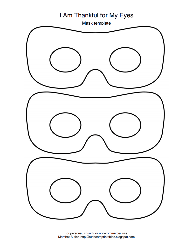 I am Thankful for my Eyes Mask Template.pdf - Google Drive ...