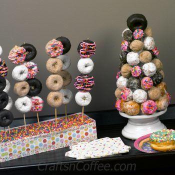 Photo of Donut-Party #Donut # Party- Donut-Party #Krapfen #Party – Geburtstagsparty5.de ……