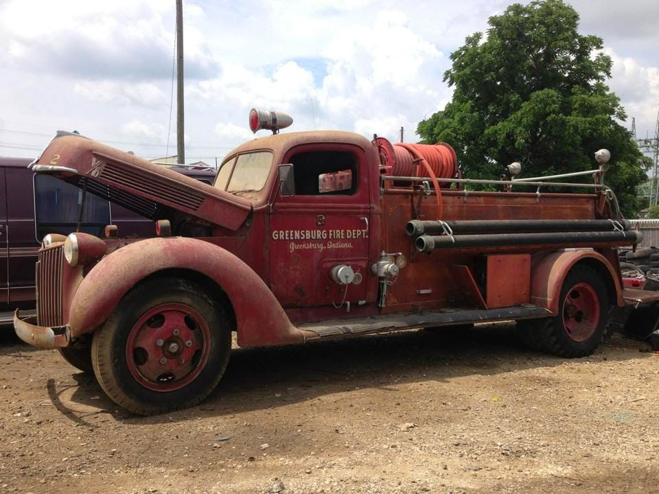 Decatur County History Fire trucks, Decatur, Greensburg