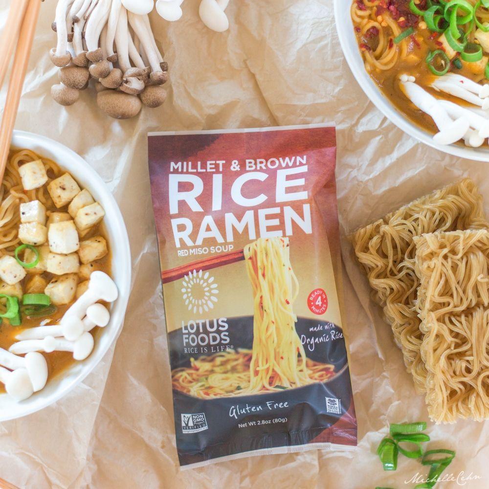 Easy Vegan Ramen Noodle Soup With Baked Tofu Cubes Recipe Vegan Ramen Vegan Ramen Recipes Ramen Noodle Recipes