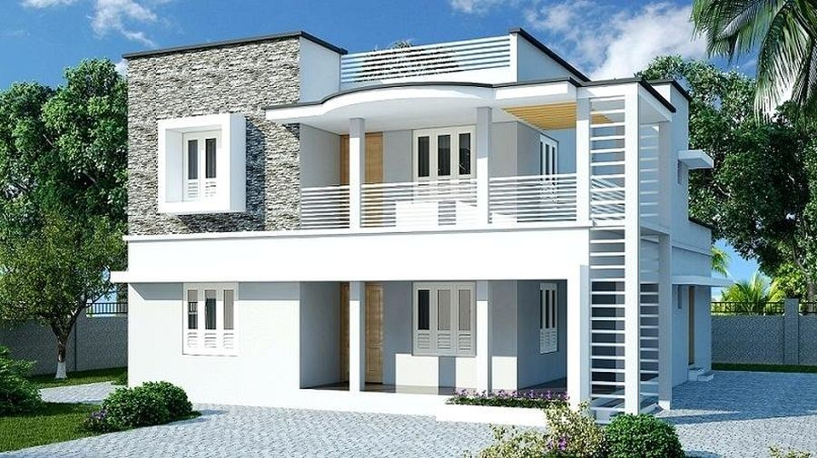 2 Storey 3 Bedroom House Design Philippines With Modern House Designs And Floor Plans Uk And Front H Modern House Design Unique House Design House Front Design