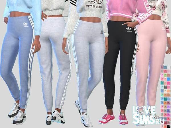 ed991f59e Спортивные брюки Jogger от Pinkzombiecupcakes | Одежда | Симс, Симс ...