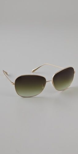 """Oliver Peoples """"Elsie"""" Sunglasses...I have them in prescription and they are wearable indoors for that """"movie star"""" look. Of course, I've been known to wear them in the movie theater if I forget my glasses..."""