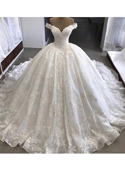 Photo of Discount Substantial V Neck Wedding Dress, Wedding Dress Lace, Ball Gown Wedding Dress