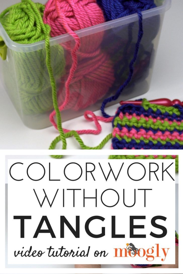 Colorwork Without Tangles | Knit patterns, Tangled and Yarns